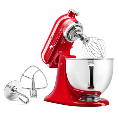 KitchenAid Queen of Hearts Keukenmixer 4,8L 5KSM180HESD