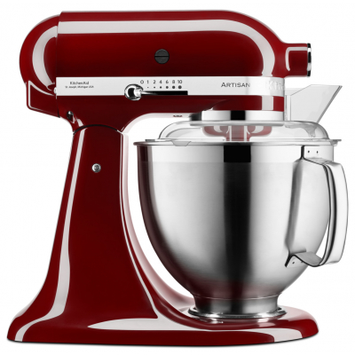 KitchenAid Artisan Keukenmixer 4,8 L Crimson Red 5KSM185PSECM*