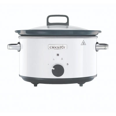 Crock-Pot Slow Cooker 3,5 Liter Wit CR030