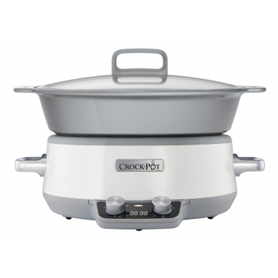 Crock-Pot Sauté Slow Cooker Wit 6 Liter CR027