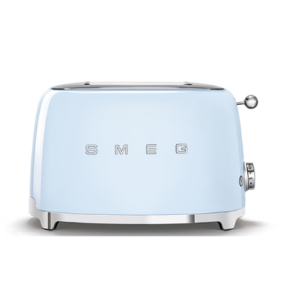Smeg Broodrooster 2x2 Pastelblauw TSF01PBEU