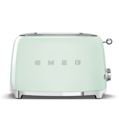Smeg Broodrooster 2x2 Watergroen TSF01PGEU