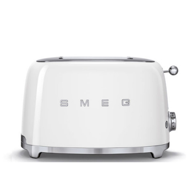 Smeg Broodrooster 2x2 Wit TSF01WHEU