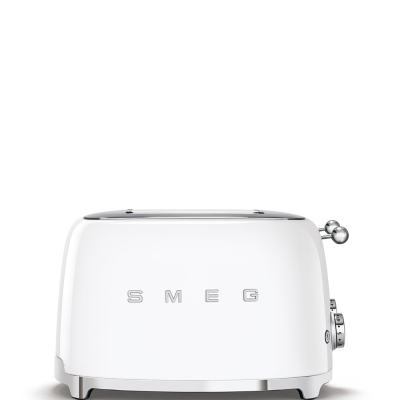 Smeg Broodrooster 4x4 Wit TSF03WHEU